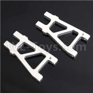 HSP 94188 spare parts-188821 188021 (08050)-01 Upgrade Aluminum Rear Lower Arm(2pcs)-Silver,Upgrade HSP 94188 RC Car Truck Parts,Upgrade HSP 1:10 RC Truck Spare parts Accessories,HSP 94188 Upgrade Parts