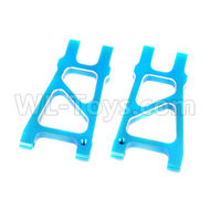 HSP 94188 spare parts-188821 188021 (08050)-02 Upgrade Aluminum Rear Lower Arm(2pcs)-Blue,Upgrade HSP 94188 RC Car Truck Parts,Upgrade HSP 1:10 RC Truck Spare parts Accessories,HSP 94188 Upgrade Parts