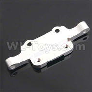 HSP 94188 spare parts-188831 188031 (08040B) (06055)-02 Aluminm Front Upper Arm Mount-Silver,Upgrade HSP 94188 RC Car Truck Parts,Upgrade HSP 1:10 RC Truck Spare parts Accessories,HSP 94188 Upgrade Parts