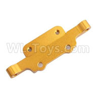 HSP 94188 spare parts-188831 188031 (08040B) (06055)-03 Aluminm Front Upper Arm Mount-Golden,Upgrade HSP 94188 RC Car Truck Parts,Upgrade HSP 1:10 RC Truck Spare parts Accessories,HSP 94188 Upgrade Parts