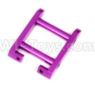 HSP 94188 spare parts-188836 108036 (08031)-03 Upgrade Aluminum Rear Brace-Purple,Upgrade HSP 94188 RC Car Truck Parts,Upgrade HSP 1:10 RC Truck Spare parts Accessories,HSP 94188 Upgrade Parts