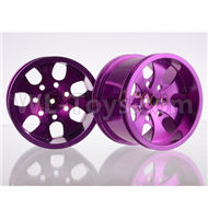HSP 94188 spare parts-188839-03 Upgrade Aluminum Wheel Rim ,Upgrade Metal Wheel hub(2pcs)-Purple,Upgrade HSP 94188 RC Car Truck Parts,Upgrade HSP 1:10 RC Truck Spare parts Accessories,HSP 94188 Upgrade Parts