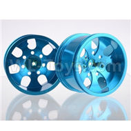 HSP 94188 spare parts-188839-04 Upgrade Aluminum Wheel Rim ,Upgrade Metal Wheel hub(2pcs)-Blue,Upgrade HSP 94188 RC Car Truck Parts,Upgrade HSP 1:10 RC Truck Spare parts Accessories,HSP 94188 Upgrade Parts