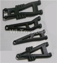 HBX 12811 Parts-Front And Rear Suspension Arms,Front And Rear Swing Arm(Total 4PCS) Parts-12603,HaiBoXing urvivor MT 12811 12811B RC Car Parts