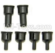 HBX 12811 Parts-Rear drive cup(2pcs) & Differential Cup(4pcs) Parts,HaiBoXing urvivor MT 12811 12811B RC Car Parts