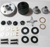 HBX Survivor MT Parts-Differentials Gear set Parts-12611R