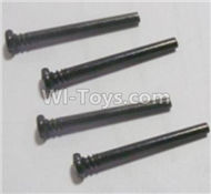 HBX Survivor MT Parts-Front Upper swing arm,Front Upper Suspension Hinge Pins(4pcs)-3X28mm Parts-12613