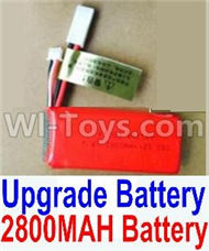 HBX Survivor MT Parts-Upgrade 2800mah Battery(1pcs) Parts,HaiBoXing urvivor MT 12811 12811B RC Car Parts