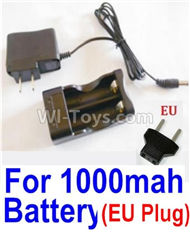 HBX Survivor MT Parts-Charge Box and Charger parts-25206(Europen Standard Socket)-(Can only be used for 1000mah Battery)