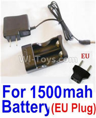 HBX Survivor MT Parts-Charge Box and Charger Parts-12641(Europen Standard Socket)-(Can only be used for 1500mah Battery) Parts