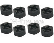 HBX Survivor MT Parts-Hexagon Wheel Seat(4pcs) Parts-12010,HaiBoXing urvivor MT 12811 12811B RC Car Parts