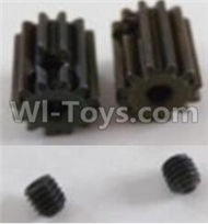 HBX Survivor MT Parts-Motor Pinion Gears 12T(12 Teeth) & Set Screws-3X3mm(2pcs) Parts-12060