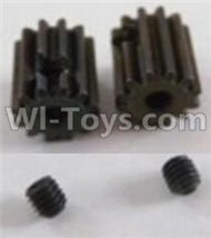 HBX Survivor MT Parts-Motor Pinion Gears 13T(13 Teeth)& Set Screws-3X3mm(2pcs) Parts-12026