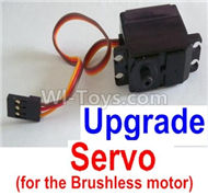 HBX Survivor MT Parts-Upgrade 3-wire Steering Servo Parts-12224(Can only be used for the Upgrade brushless kit)