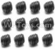 HBX Survivor MT Parts-Set Screw-3X4mm(12PCS) Parts-S109
