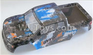 HaiBoxing HBX 12811 Parts-12687 Truck Body shell,Car shell-Blue Parts-12688,HaiBoXing urvivor MT 12811 12811B RC Car Parts