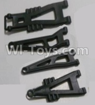 HaiBoXing HBX 12812 Parts-Front And Rear Suspension Arms,Front And Rear Swing Arm(Total 4PCS) Parts-12603,1/12 HaiBoXing HBX 12812 Survivor ST RC Truck Spare parts Accessories