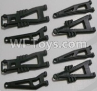 HaiBoXing HBX 12812 Parts-Front And Rear Suspension Arms,Front And Rear Swing Arm(Total 8PCS) Parts-12603,1/12 HaiBoXing HBX 12812 Survivor ST RC Truck Spare parts Accessories