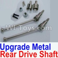 HaiBoXing HBX 12812 Parts-Upgrade Metal Rear CVD Shaft & nuts & screws & wheel pins & Metal Differential Cup-(Total For Rear Car) Parts-f,1/12 HaiBoXing HBX 12812 Survivor ST RC Truck Spare parts Accessories