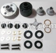 HaiBoXing HBX 12812 Parts-Differentials Gear set Parts-12611R,1/12 HaiBoXing HBX 12812 Survivor ST RC Truck Spare parts Accessories
