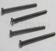 HaiBoXing HBX 12812 Parts--Front Upper swing arm,Front Upper Suspension Hinge Pins(4pcs)-3X28mm Parts-12613,1/12 HaiBoXing HBX 12812 Survivor ST RC Truck Spare parts Accessories