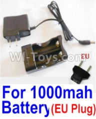 HaiBoXing HBX 12812 Parts-Charge Box and Charger(Europen Standard Socket)-(Can only be used for 1000mah Battery) Parts-25206,1/12 HaiBoXing HBX 12812 Survivor ST RC Truck Spare parts Accessories