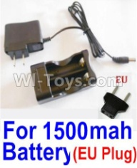 HaiBoXing HBX 12812 Parts-Charge Box and Charger(Europen Standard Socket)-(Can only be used for 1500mah Battery) Parts-12641,1/12 HaiBoXing HBX 12812 Survivor ST RC Truck Spare parts Accessories