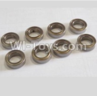 HaiBoXing HBX 12812 Parts-Bearing Parts-Ball Bearing(8PCS)-7.95x13x3.5mm Parts-79513,1/12 HaiBoXing HBX 12812 Survivor ST RC Truck Spare parts Accessories