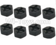 HaiBoXing HBX 12812 Parts-Hexagon Wheel Seat(4pcs) Parts-12010,1/12 HaiBoXing HBX 12812 Survivor ST RC Truck Spare parts Accessories