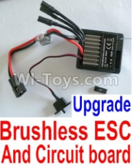 HaiBoXing HBX 12812 Parts-Upgrade Brushless ESC and Receiver board together Parts-12216,1/12 HaiBoXing HBX 12812 Survivor ST RC Truck Spare parts Accessories
