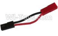 HaiBoXing HBX 12812 Parts-ESC-to-Battery Plug Adaptor Wire(1pcs) Parts-12634,1/12 HaiBoXing HBX 12812 Survivor ST RC Truck Spare parts Accessories