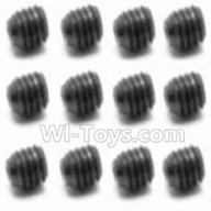 HaiBoXing HBX 12812 Parts-Screw Parts-Set Screw-3X3mm(12PCS) Parts-S016,1/12 HaiBoXing HBX 12812 Survivor ST RC Truck Spare parts Accessories