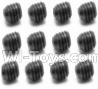 HaiBoXing HBX 12812 Parts-Screw Parts-Set Screw-3X4mm(12PCS) Parts-S109,1/12 HaiBoXing HBX 12812 Survivor ST RC Truck Spare parts Accessories