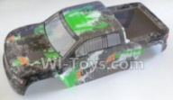 HaiBoXing HBX 12812 Parts-Body shell,Car shell-Green Parts-12688,1/12 HaiBoXing HBX 12812 Survivor ST RC Truck Spare parts Accessories