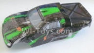 HBX 12813 Body shell cover Parts-Buggy Body shell,Car shell-Green Parts-12685,1/12 HaiBoXing HBX 12813 Survivor MT RC Car Parts