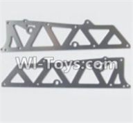 HBX 12881 VORTEX Parts-Aluminum Alloy Chassis Side Plates A Parts-12210,HaiBoXing HBX 12881 VORTEX RC Car Parts