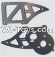 HBX 12881 VORTEX Parts-Aluminum Alloy Chassis Side Plates B Parts-12211,HaiBoXing HBX 12881 VORTEX RC Car Parts