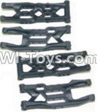 HBX 12881 VORTEX Parts-Front Bottom And Rear Bottom Suspension Arms,Front Bottom And Rear Bottom Swing Arm(Total 4PCS) Parts-12004,HaiBoXing HBX 12881 VORTEX RC Car Parts