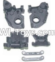 HBX 12881 VORTEX Parts-Gear Case & Suspension Mount Parts-12005P,HaiBoXing HBX 12881 VORTEX RC Car Parts