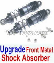 HBX 12881 VORTEX Parts-Upgrade Parts-Front Metal hydraulic shock absorber(2pcs) Parts-12203,HaiBoXing HBX 12881 VORTEX RC Car Parts