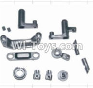 HBX 12881 VORTEX Parts-Steering Assembly & Servo Saver Assembly & Battery Door Block,Battery Door Lock Parts-12009P,HaiBoXing HBX 12881 VORTEX RC Car Parts