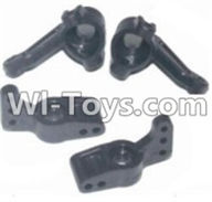 HBX 12881 VORTEX Parts-Steering cup(2pcs) & Rear shaft seat(2pcs) Parts-16027NP,HaiBoXing HBX 12881 VORTEX RC Car Parts