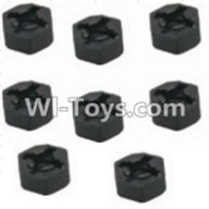 HBX 12881 VORTEX Parts-Hexagon Wheel Seat(8pcs) Parts-12010,HaiBoXing HBX 12881 VORTEX RC Car Parts