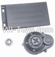 HBX 12881 VORTEX Parts-Battery Door & Motor Gear Cover Parts-12012,HaiBoXing HBX 12881 VORTEX RC Car Parts