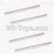 HBX 12881 VORTEX Parts-Rear Bottom Suspension Arms Pin(4pcs)-2.5X37.6mm Parts-12023,HaiBoXing HBX 12881 VORTEX RC Car Parts