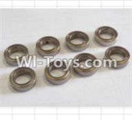 HBX 12881 VORTEX Parts-Bearing Parts-ball Bearing(8pcs)-7.95x13x3.5mm Parts-79513,HaiBoXing HBX 12881 VORTEX RC Car Parts