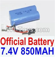 HBX 12881 VORTEX Parts-Battery Parts-Official 7.4V 850mah Battery(1pcs) Parts-12032N,HaiBoXing HBX 12881 VORTEX RC Car Parts