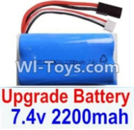 HBX 12881 VORTEX Parts-Upgrade Battery Parts-Upgrade 7.4V 2200mah Battery(1pcs) Parts-,HaiBoXing HBX 12881 VORTEX RC Car Parts