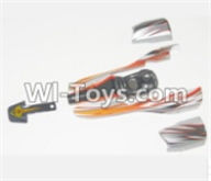 HBX 12881 VORTEX Parts-Body Shell Parts-Car canopy,Shell cover-Red Parts-12040,HaiBoXing HBX 12881 VORTEX RC Car Parts