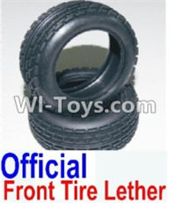 HBX 12881 VORTEX Parts-tire lether Parts-Official Front tire lether(2pcs)-Not Include the wheel hub Parts-12034,HaiBoXing HBX 12881 VORTEX RC Car Parts